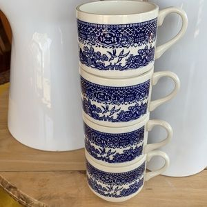 Stacking Cups Tea Coffee Vintage made in the USA